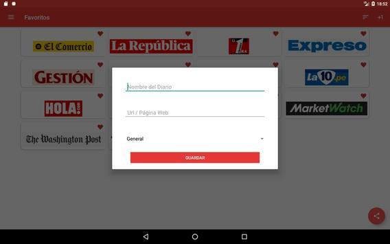 Periódicos Peruanos syot layar 12