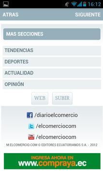 El Comercio Móvil apk screenshot