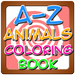 A to Z Animals Coloring Book
