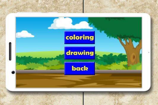 A To Z Animals Coloring Book Apk Screenshot