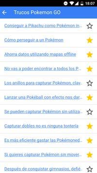 Cheats Pokemon GO Guide screenshot 1