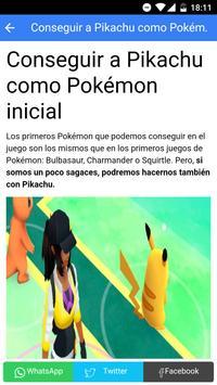 Cheats Pokemon GO Guide screenshot 8