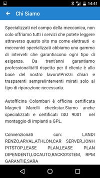 Autofficina Colombari apk screenshot