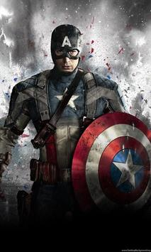 Captain Wallpaper HD screenshot 1