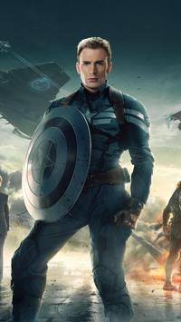 Captain Wallpaper HD screenshot 2