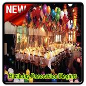 Birthday Decoration Elegant icon