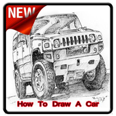 How To Draw a Car icon