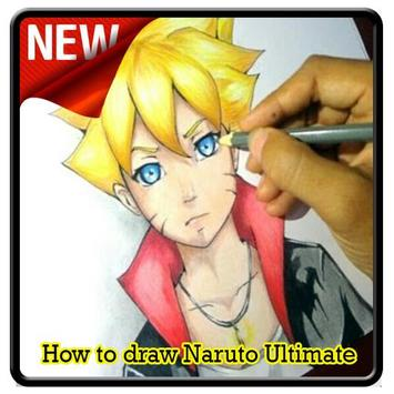 How to draw Naruto Ultimate screenshot 6