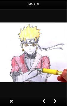 How to draw Naruto Ultimate screenshot 7