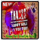 Happy Holi Speech Card icon