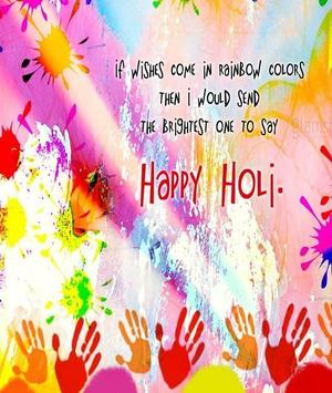 Happy Holi Speech Card screenshot 4