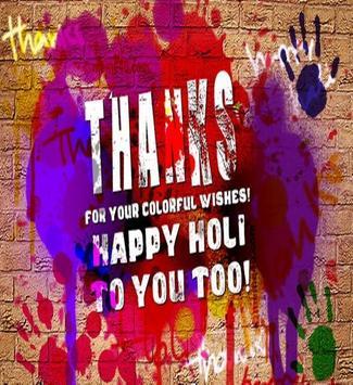 Happy Holi Speech Card screenshot 9