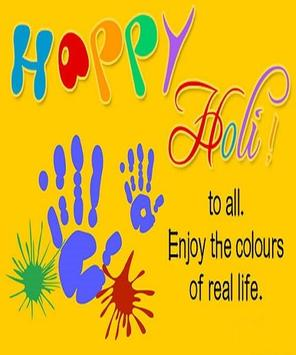 Happy Holi Speech Card screenshot 13