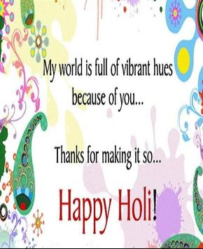Happy Holi Speech Card screenshot 10