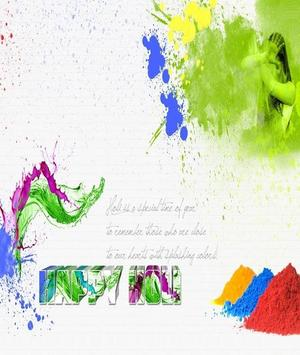 Happy Holi Greeting Card screenshot 11