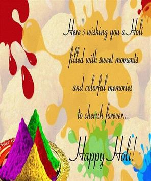 Happy Holi Greeting Card screenshot 12
