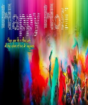 Happy Holi Greeting Card screenshot 14