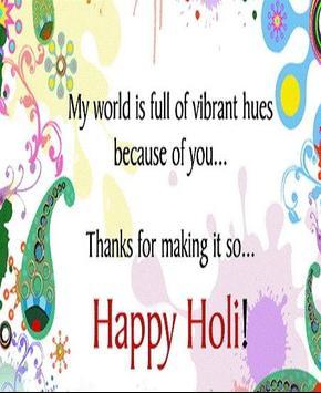 Happy Holi Speech Card screenshot 18
