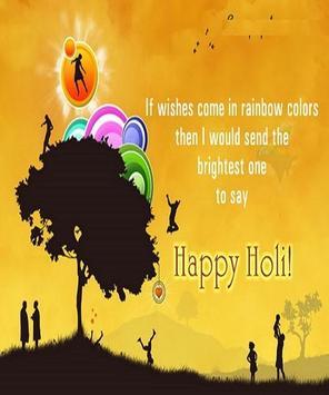Happy Holi Speech Card screenshot 19