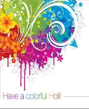Happy Holi Speech Card screenshot 1