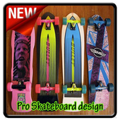 Pro Skateboard Design icon