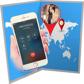 Phone Number Tracker Location 2018 icon
