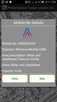 Phone Number Tracker Location 2018 apk screenshot
