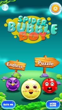 Bubble Shooter Spiderboy Edition poster