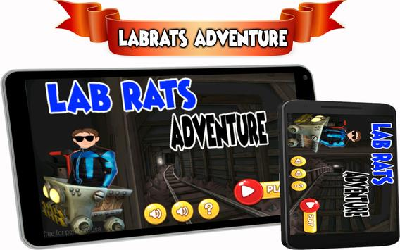 run lab adventure rats mission poster