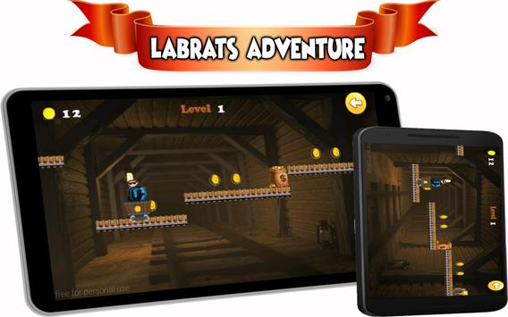 run lab adventure rats mission apk screenshot