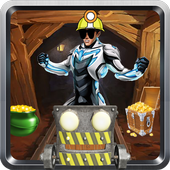 running max figting rise steel icon