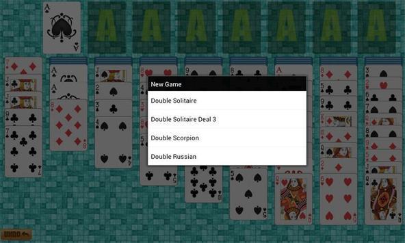 Double Solitaire apk screenshot