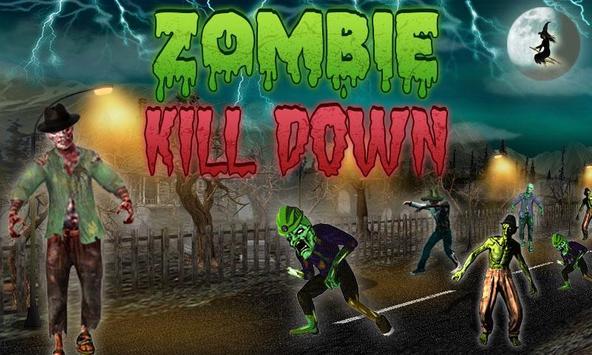 Zombie Kill Down poster