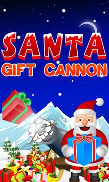 Santa Gift Cannon: The Xmas game poster