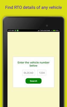 Vehicle registration details screenshot 5