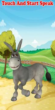 Talking Donkey apk screenshot