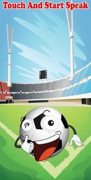 Talking Soccer Ball poster