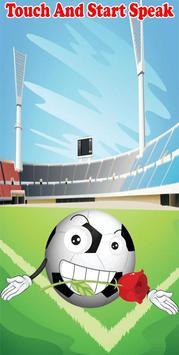 Talking Soccer Ball apk screenshot