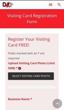 Digital Visiting Card screenshot 2
