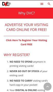 Digital Visiting Card apk screenshot