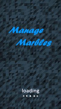 Manage Marbles poster