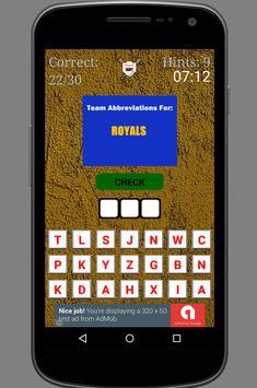 Pro Baseball Quiz - MLB apk screenshot