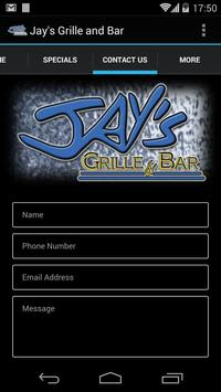 Jay's Grille and Bar apk screenshot