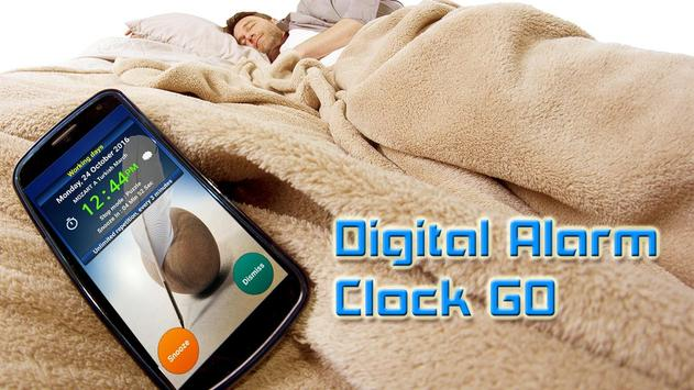 Digital Alarm Clock GO poster