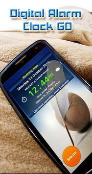 Digital Alarm Clock GO screenshot 1