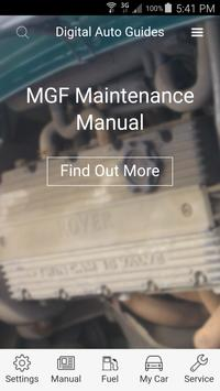 DAG MGF Maintenance Manual poster