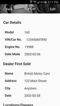 DAG MG TF2 Maintenance Manual screenshot 4