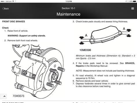 DAG MG TF2 Maintenance Manual screenshot 9