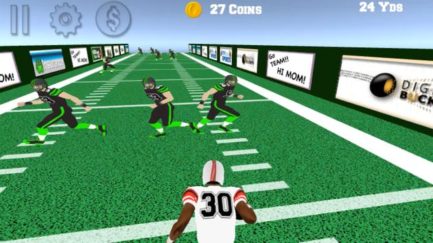 Rushing Yards 3D screenshot 10