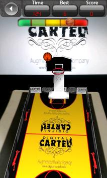 AR Basketball Game Demo apk screenshot
